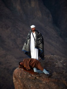 bedouin on mt sinai