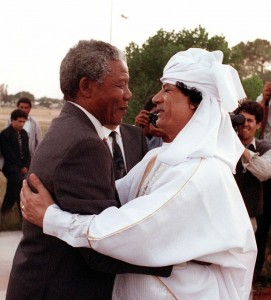 mandela and Khadafi