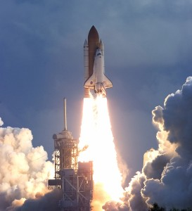 shuttle launches